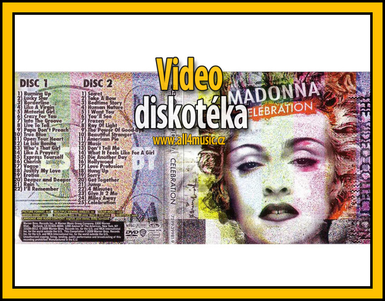 Video disco DVD